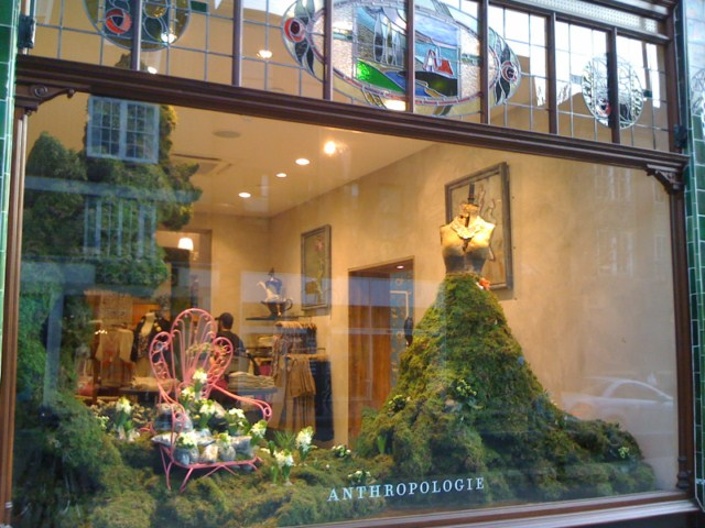 Anthropologie Kings Road London International Visual