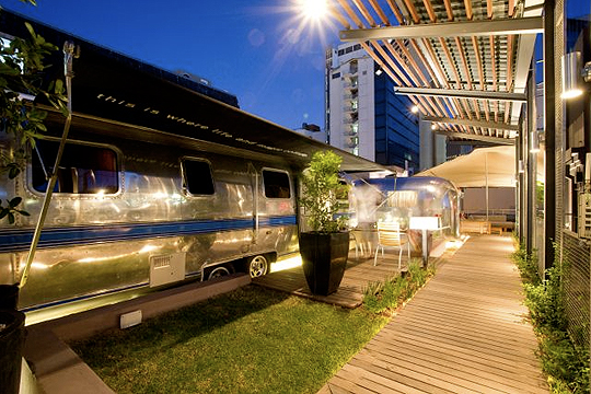 Grand Daddy Hotel Caravans