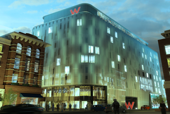 W Hotel Leicester Square London International Visual