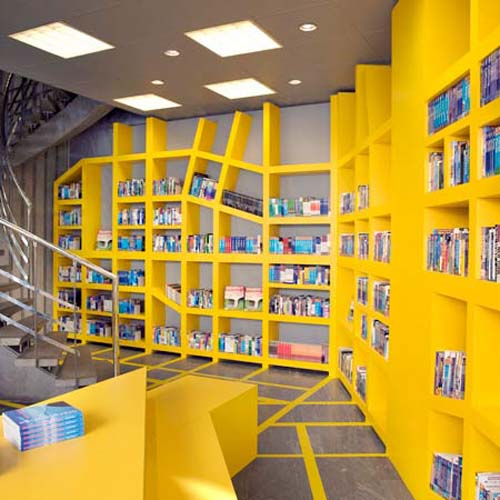 Quirky Book Stores International Visual