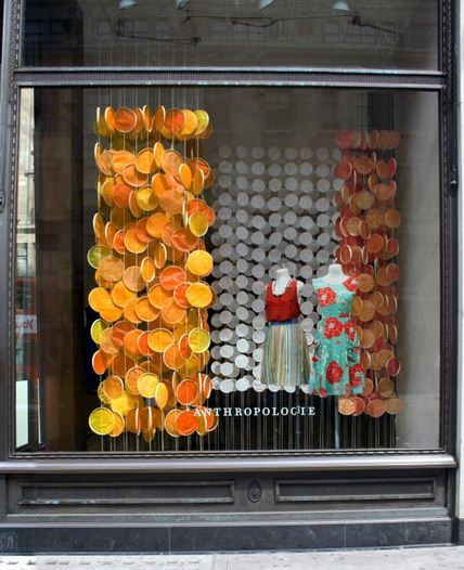Anthropologie summer windows international visual for Anthropologie store decoration ideas