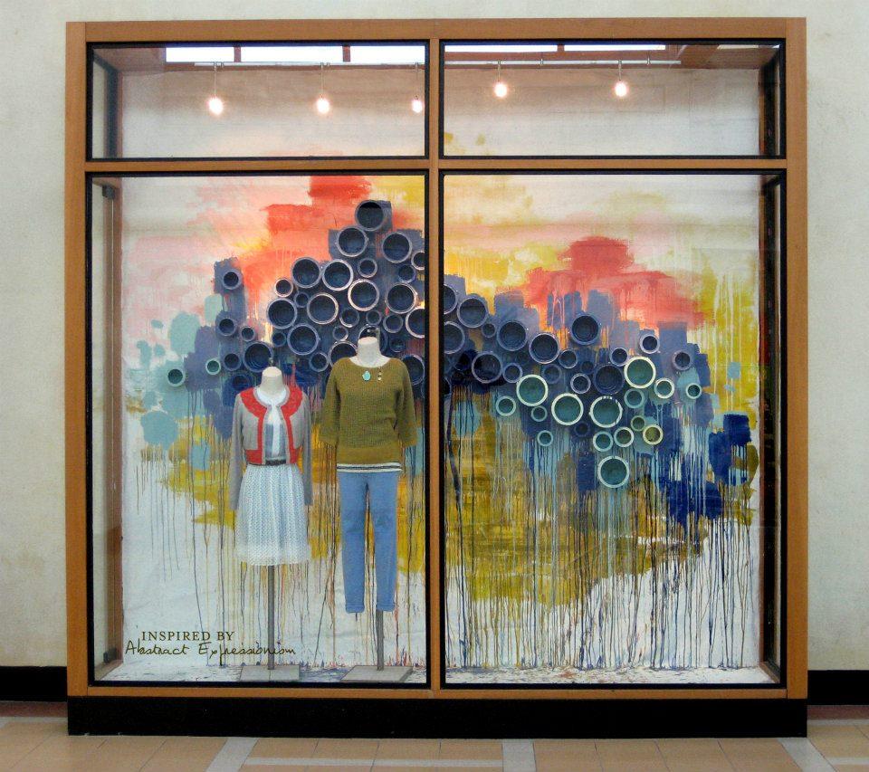 Anthropologie Spring Window Schemes 2012