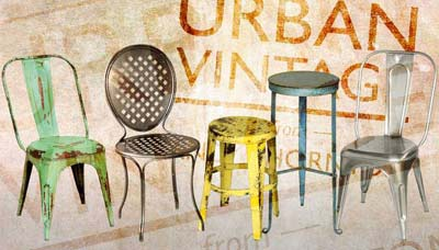 ... Demand And Urban Vintage From Andy Thornton Has The Complete Range To  Cater For All Venues. The Factory Style Furniture And Lighting Has Vintage  Appeal ...