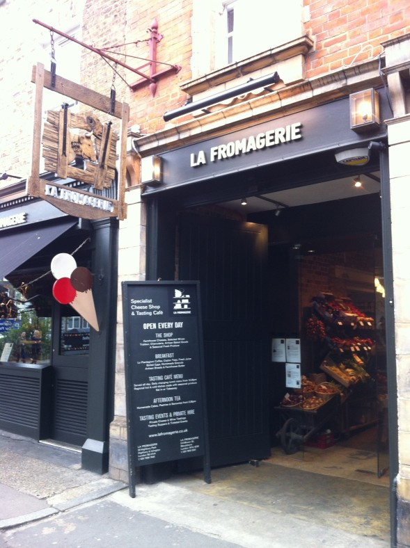 La Fromagerie Marylebone High St London April 201201