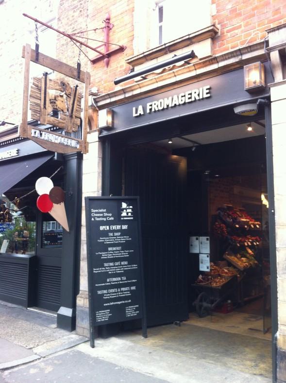 La Fromagerie Marylebone High St London April 201201