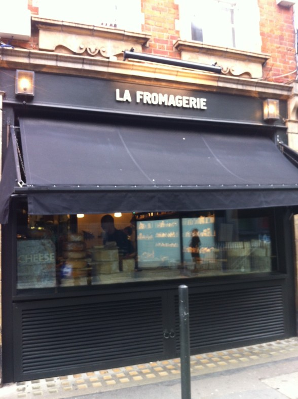 La Fromagerie Marylebone High St London April 201214