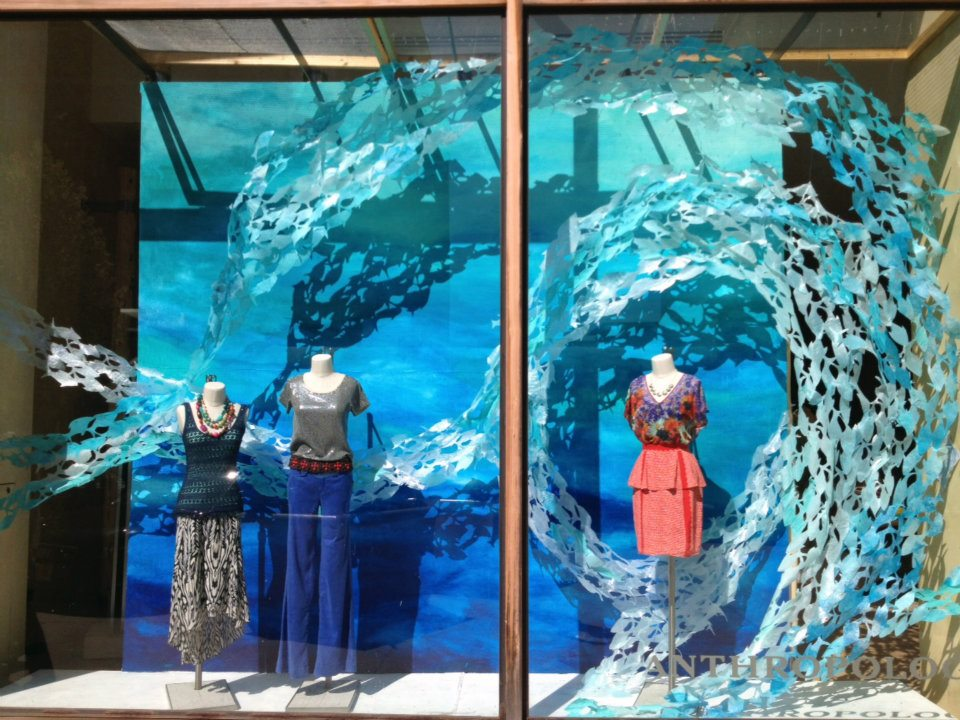 Anthropologie Earth Day Windows International Visual