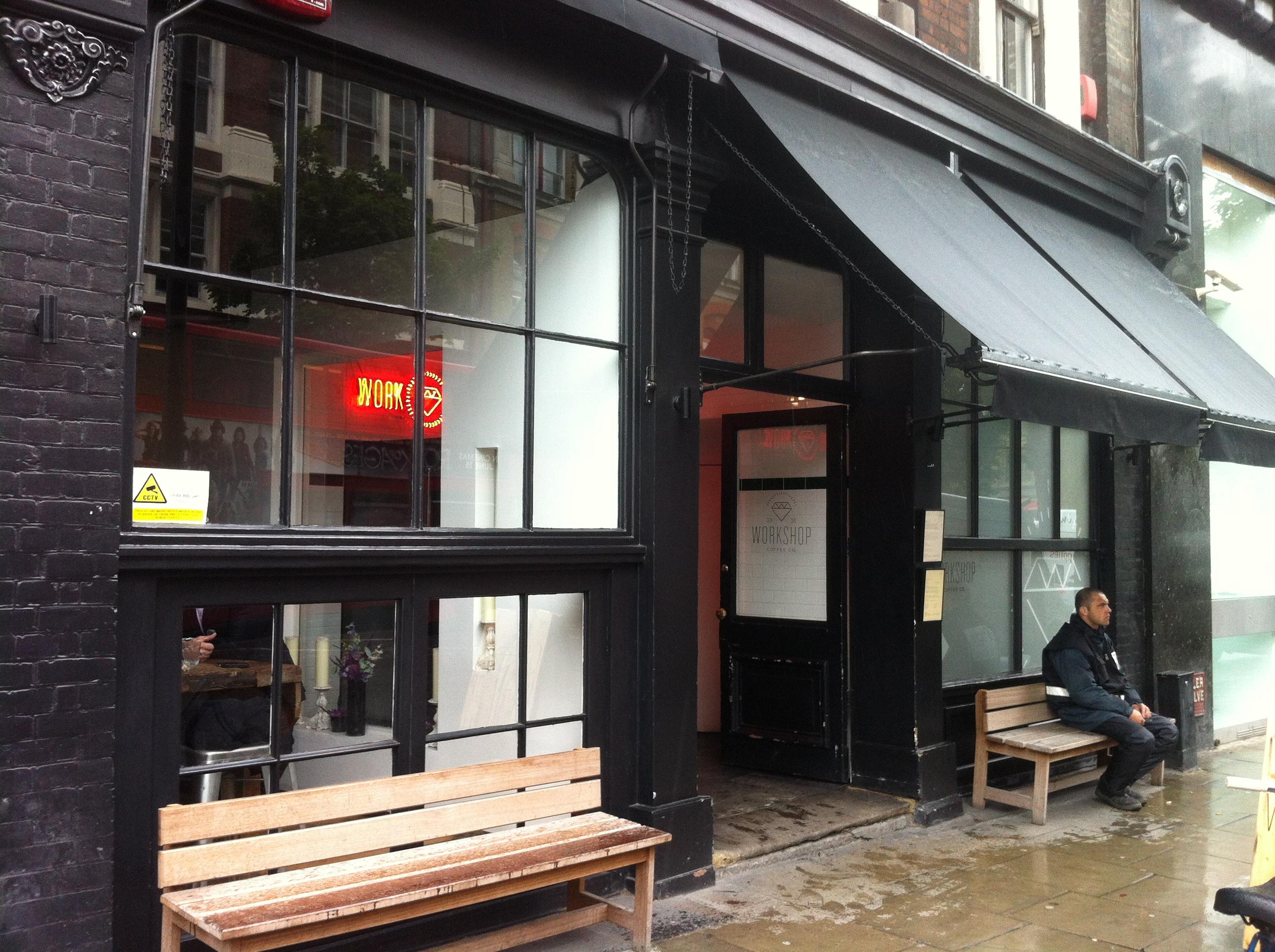 Workshop Coffee Clerkenwell London International Visual
