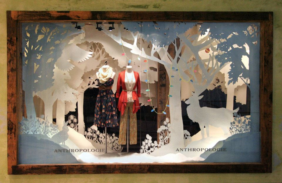 Anthropologie – American Store Holiday Windows 2012 ...