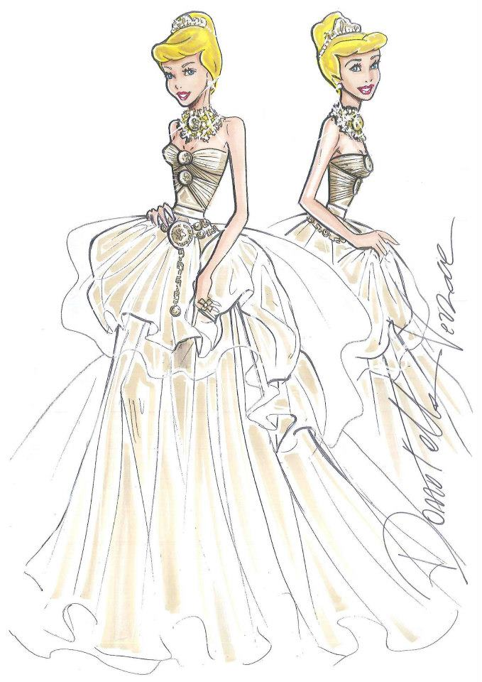 Harrods windows international visual - Dessiner des princesses ...