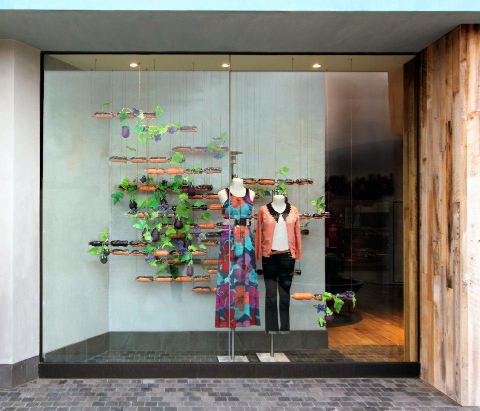 Anthropologie Window Displays 2015