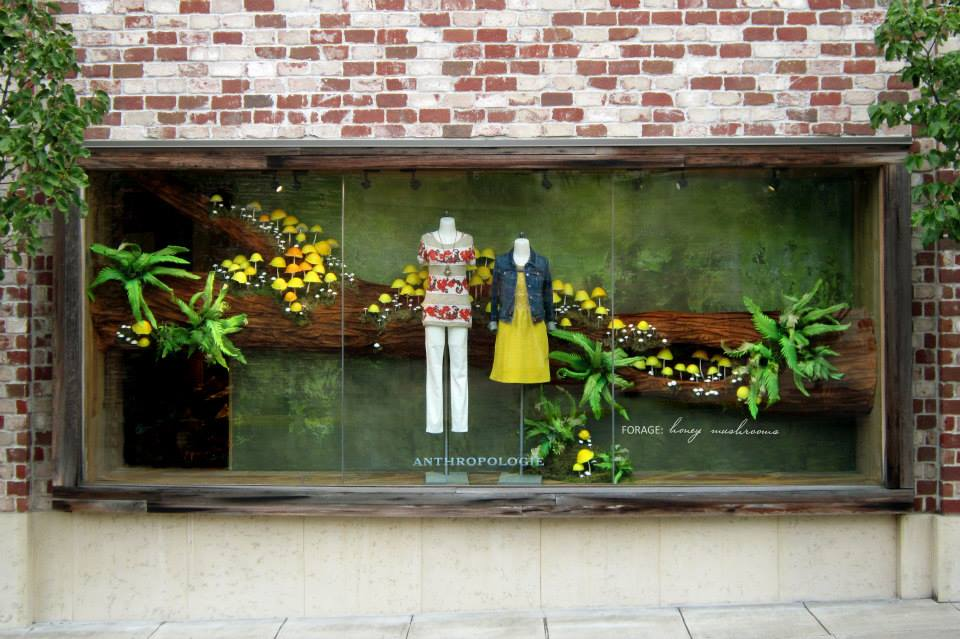 Anthropologie usa autumn windows 2013 international visual for Anthropologie store decoration ideas