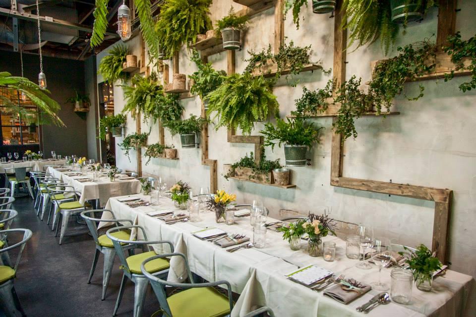 Terrain Garden Cafe Bridal Shower