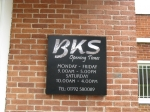 45-2-2785-bks-small-folded-tray-sign-for-opening-hours-with-full-colour-and-brushed-effect-stainless-steel-vin.full