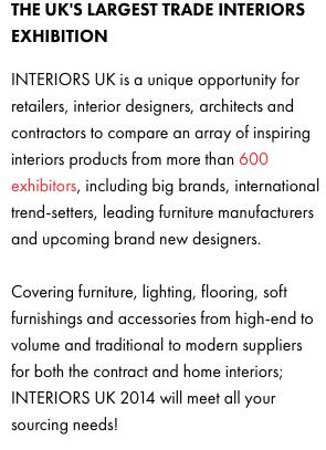 Interiors Uk Visual Merchandising Seminar By Lynda Murray International Visual