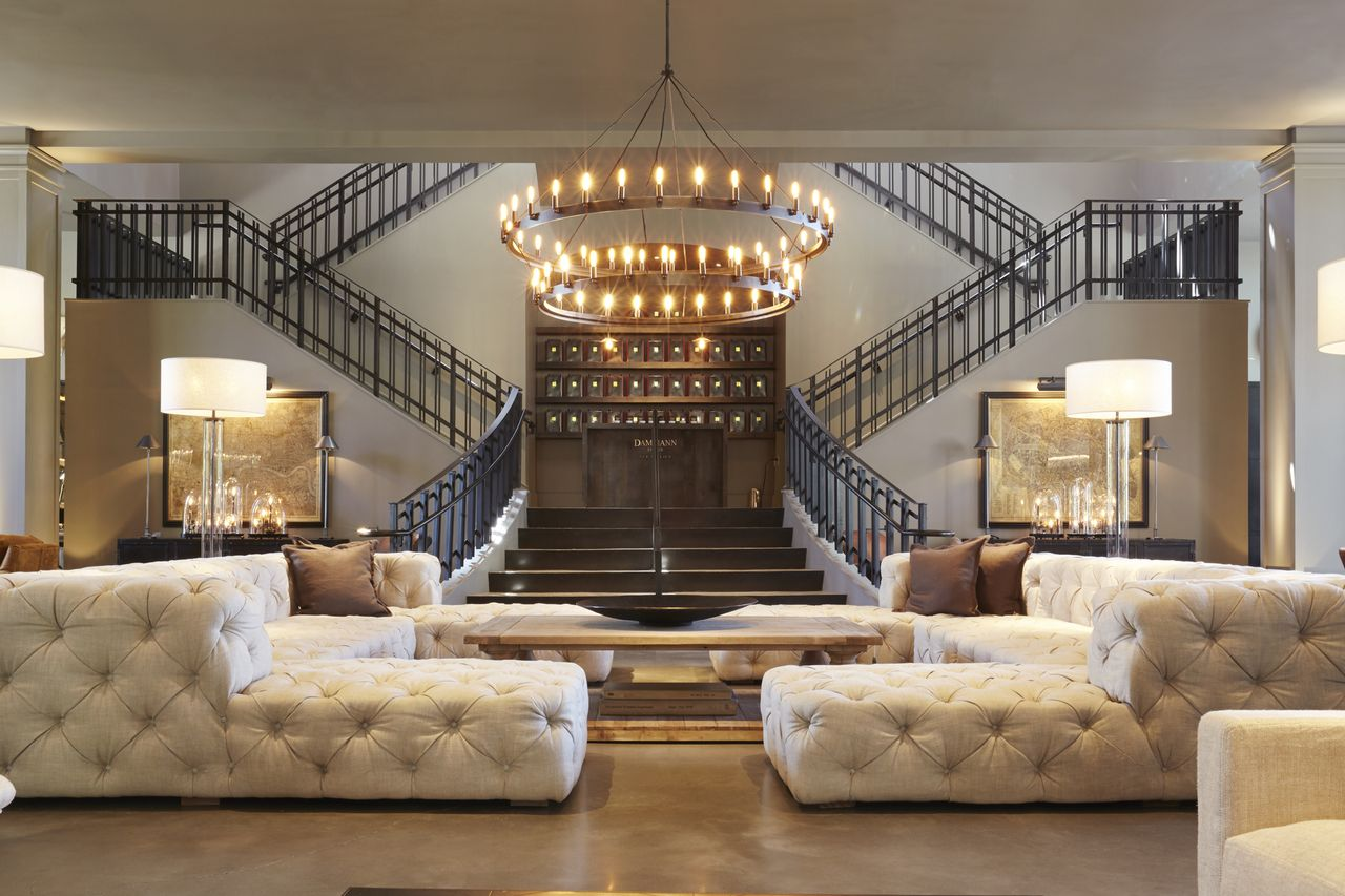 Restoration Hardware The Flatiron Gallery International Visual