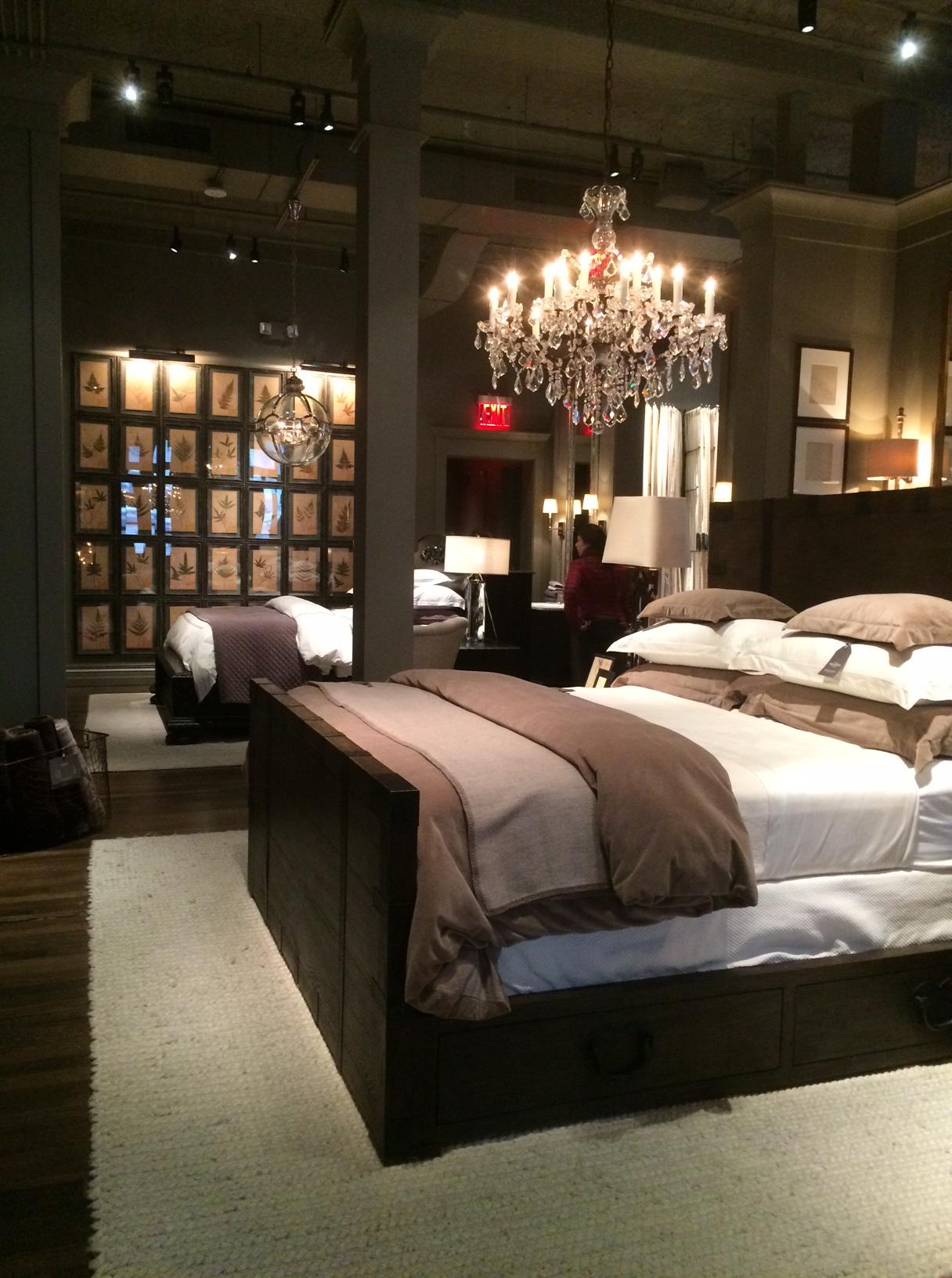 restoration hardware the flatiron gallery. Black Bedroom Furniture Sets. Home Design Ideas
