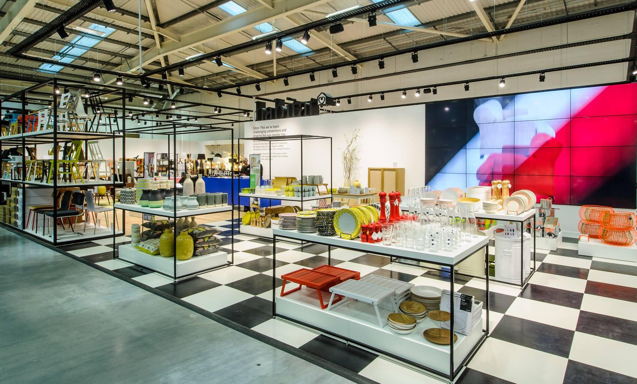 Habitat Unveils New Look Concept Store International Visual