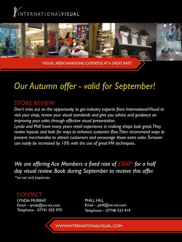 Store Review Autumn Offer